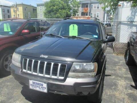 2004 Jeep Grand Cherokee for sale at MERROW WHOLESALE AUTO in Manchester NH
