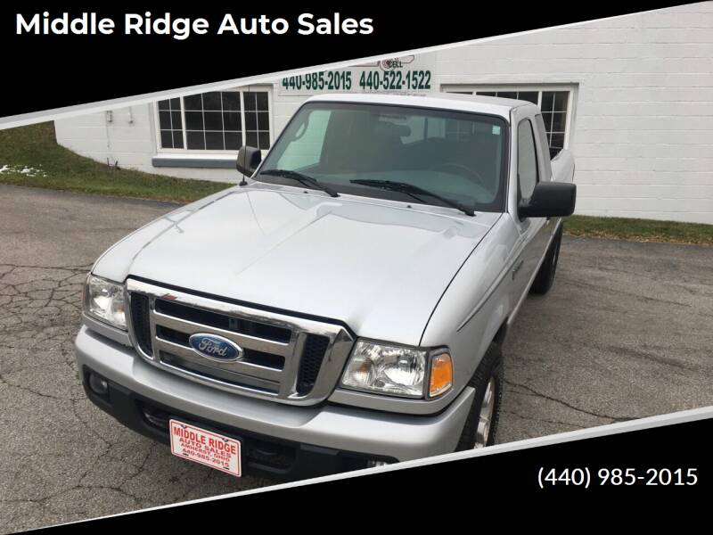2007 Ford Ranger for sale at Middle Ridge Auto Sales in Amherst OH