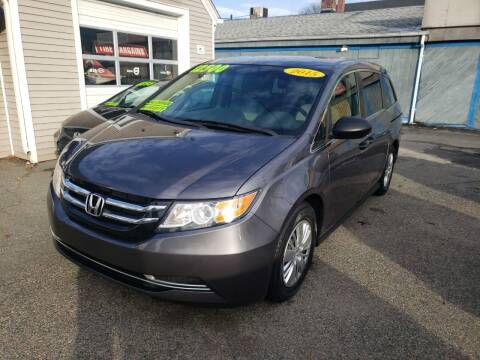 2015 Honda Odyssey for sale at TC Auto Repair and Sales Inc in Abington MA