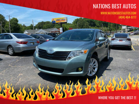 2011 Toyota Venza for sale at Nations Best Autos in Decatur GA