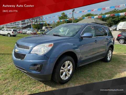 2012 Chevrolet Equinox for sale at Autoway Auto Center in Sevierville TN