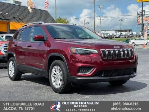 2020 Jeep Cherokee for sale at Ole Ben Franklin Motors-Mitsubishi of Alcoa in Alcoa TN