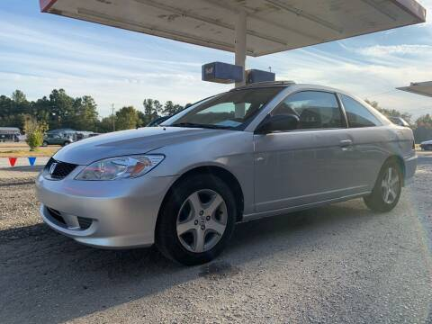 2004 Honda Civic for sale at Charlie's Used Cars in Thomasville NC