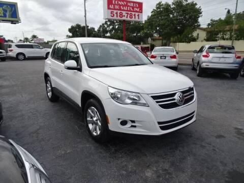 2009 Volkswagen Tiguan for sale at DONNY MILLS AUTO SALES in Largo FL