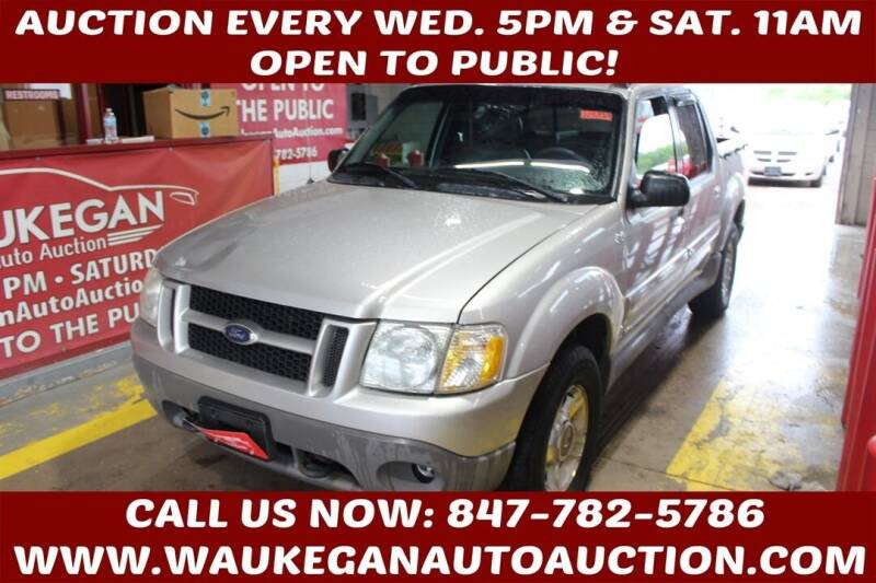 2002 Ford Explorer Sport Trac for sale at Waukegan Auto Auction in Waukegan IL