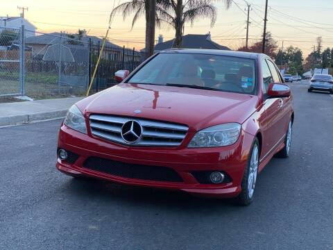 2009 Mercedes-Benz C-Class for sale at ZaZa Motors in San Leandro CA