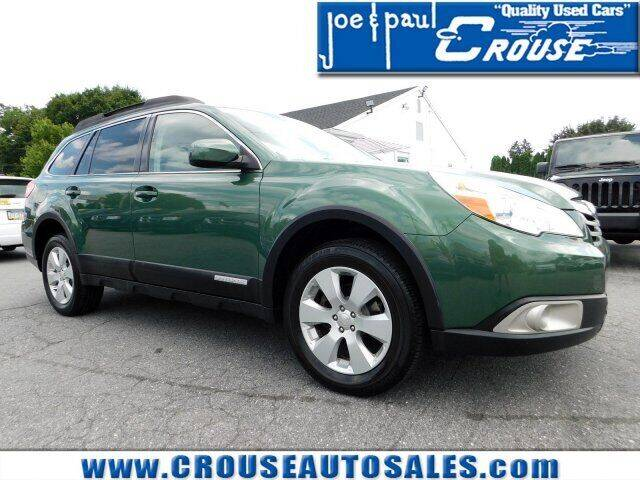 2011 Subaru Outback for sale at Joe and Paul Crouse Inc. in Columbia PA