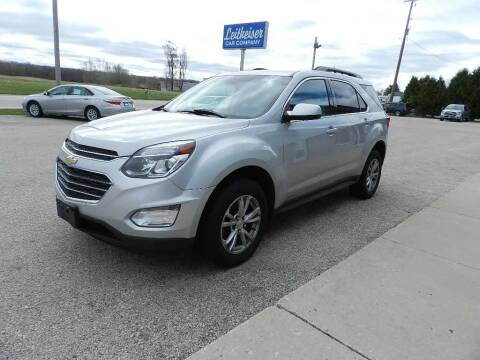 2017 Chevrolet Equinox for sale at Leitheiser Car Company in West Bend WI