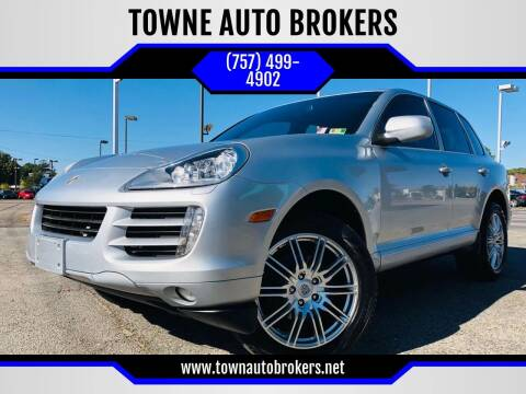 2008 Porsche Cayenne for sale at TOWNE AUTO BROKERS in Virginia Beach VA