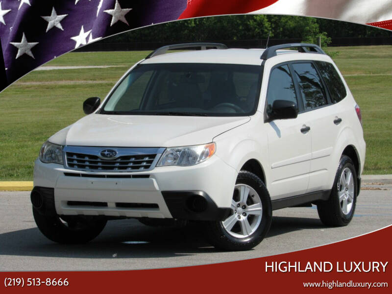 2011 Subaru Forester for sale at Highland Luxury in Highland IN