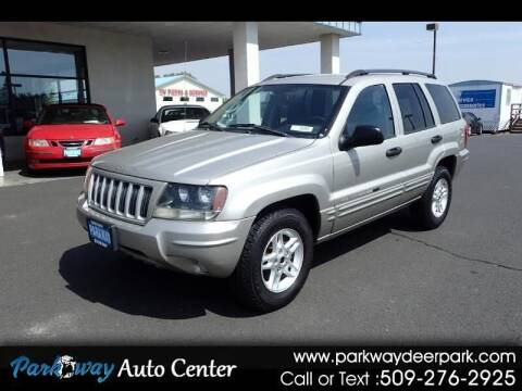 2004 Jeep Grand Cherokee for sale at PARKWAY AUTO CENTER AND RV in Deer Park WA