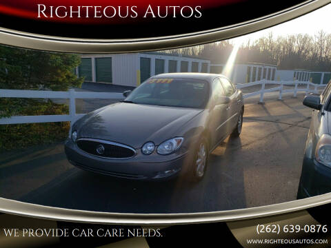 2006 Buick LaCrosse for sale at Righteous Autos in Racine WI