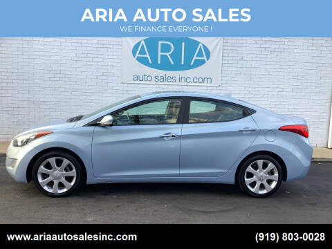 2011 Hyundai Elantra for sale at ARIA  AUTO  SALES in Raleigh NC