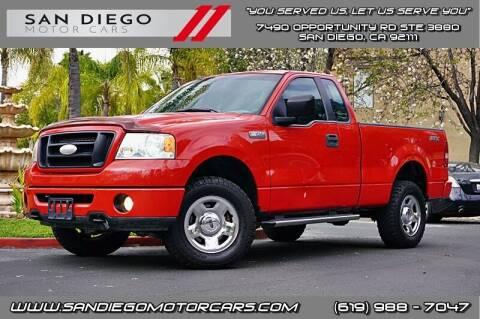 2007 Ford F-150 for sale at San Diego Motor Cars LLC in San Diego CA