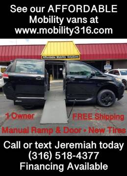 2014 Toyota Sienna for sale at Affordable Mobility Solutions, LLC - Mobility/Wheelchair Accessible Inventory-Wichita in Wichita KS