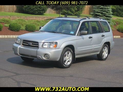 2004 Subaru Forester for sale at Absolute Auto Solutions in Hamilton NJ