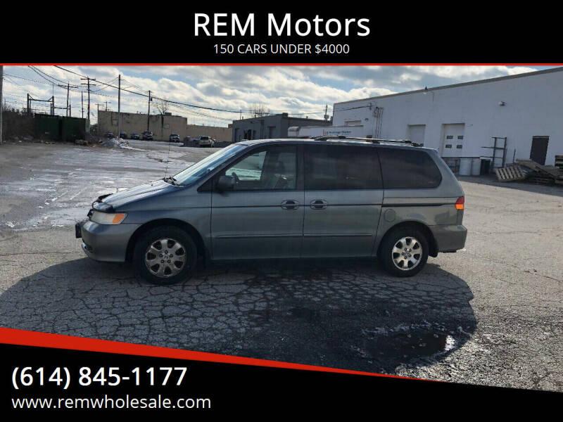 2002 Honda Odyssey for sale at REM Motors in Columbus OH