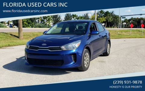 2018 Kia Rio for sale at FLORIDA USED CARS INC in Fort Myers FL