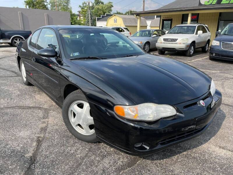 2002 Chevrolet Monte Carlo for sale at speedy auto sales in Indianapolis IN
