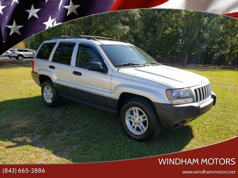 2004 Jeep Grand Cherokee for sale at Windham Motors in Florence SC