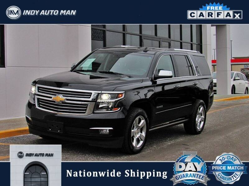 2016 Chevrolet Tahoe for sale at INDY AUTO MAN in Indianapolis IN