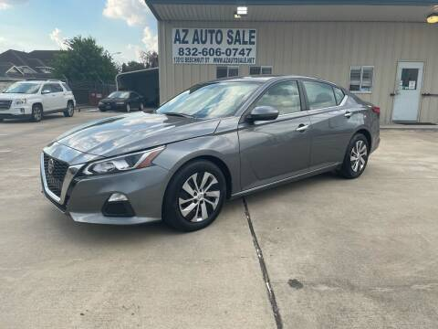 2020 Nissan Altima for sale at AZ Auto Sale in Houston TX