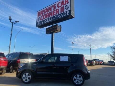 2018 Kia Soul for sale at Bryans Car Corner in Chickasha OK