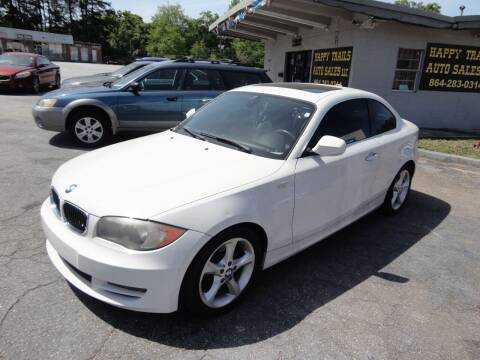 2011 BMW 1 Series for sale at HAPPY TRAILS AUTO SALES LLC in Taylors SC
