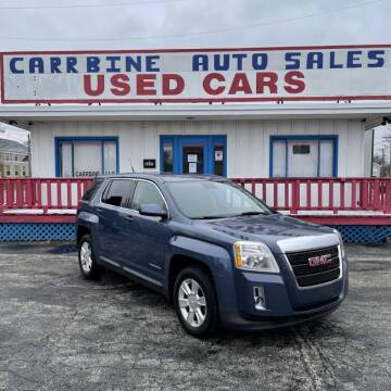 2012 GMC Terrain for sale at CarrBine Auto Sales in Ashtabula OH