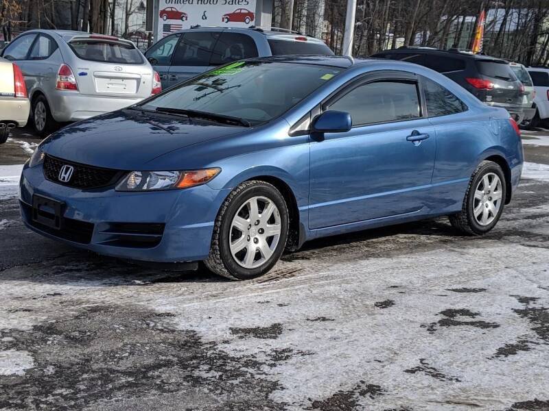 2010 Honda Civic for sale at United Auto Service in Leominster MA