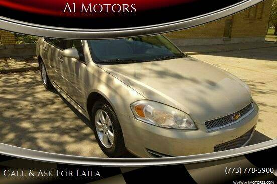 2012 Chevrolet Impala for sale at A1 Motors Inc in Chicago IL