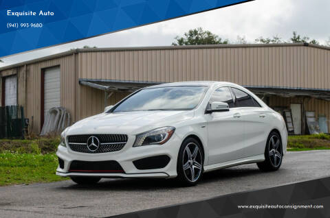 2014 Mercedes-Benz CLA for sale at Exquisite Auto in Sarasota FL