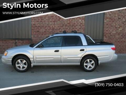 2006 Subaru Baja for sale at Styln Motors in El Paso IL