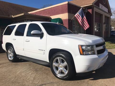 2009 Chevrolet Tahoe for sale at FIRESTATION AUTO CENTER in Tyler TX