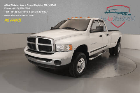 2004 Dodge Ram Pickup 3500 for sale at Elvis Auto Sales LLC in Grand Rapids MI
