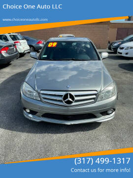 2009 Mercedes-Benz C-Class for sale at Choice One Auto LLC in Beech Grove IN