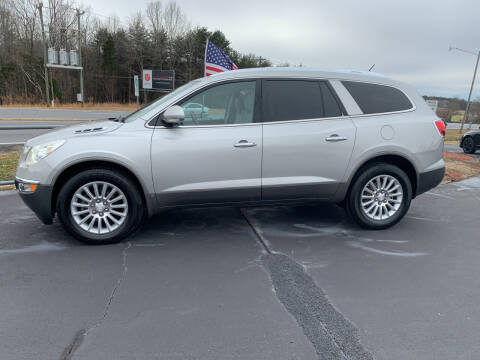 2008 Buick Enclave for sale at Doug White's Auto Wholesale Mart in Newton NC