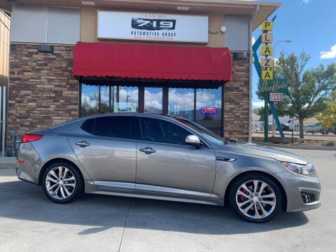 2015 Kia Optima for sale at 719 Automotive Group in Colorado Springs CO