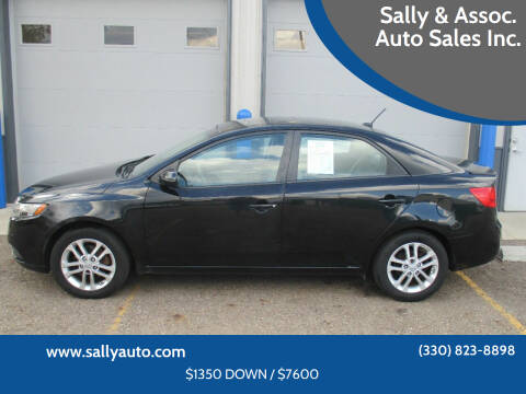 2011 Kia Forte for sale at Sally & Assoc. Auto Sales Inc. in Alliance OH