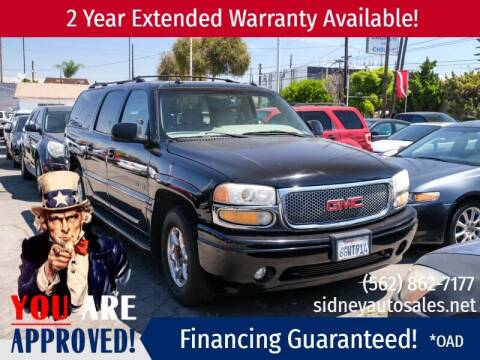 2003 GMC Yukon XL for sale at Sidney Auto Sales in Downey CA