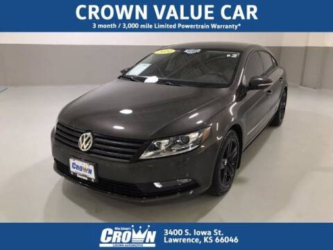 2014 Volkswagen CC for sale at Crown Automotive of Lawrence Kansas in Lawrence KS