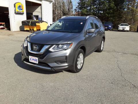 2017 Nissan Rogue for sale at A-Plus Motors in Alton ME