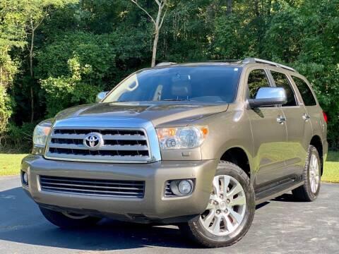 2012 Toyota Sequoia for sale at Sebar Inc. in Greensboro NC