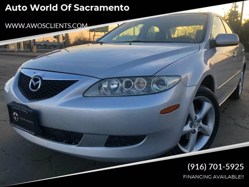 2004 Mazda MAZDA6 for sale at Auto World of Sacramento Stockton Blvd in Sacramento CA