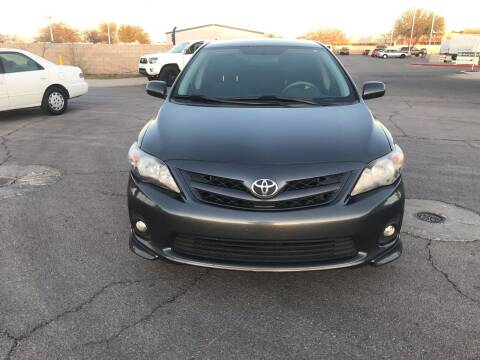 2011 Toyota Corolla for sale at CASH OR PAYMENTS AUTO SALES in Las Vegas NV