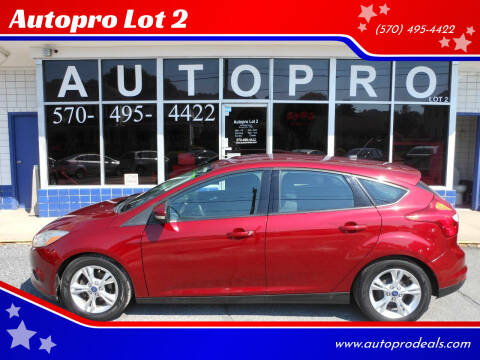 2014 Ford Focus for sale at Autopro Lot 2 in Sunbury PA