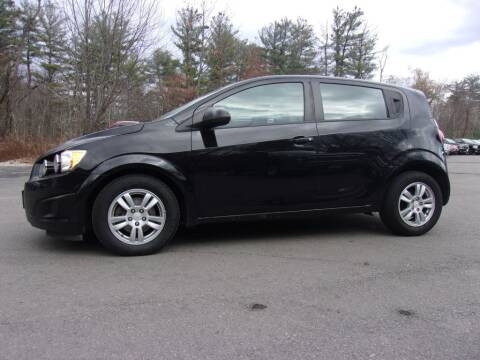 2012 Chevrolet Sonic for sale at Mark's Discount Truck & Auto Sales in Londonderry NH