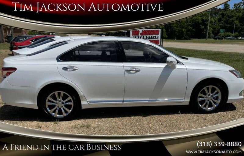 2012 Lexus ES 350 for sale at Tim Jackson Automotive in Jonesville LA