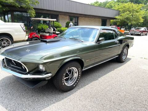 1969 Ford MUSTANG MACH 1 SHELBY for sale at Black Tie Classics in Stratford NJ