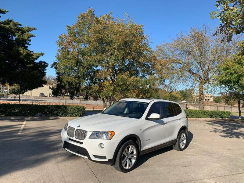 2014 BMW X3 for sale at Z AUTO MART in Lewisville TX